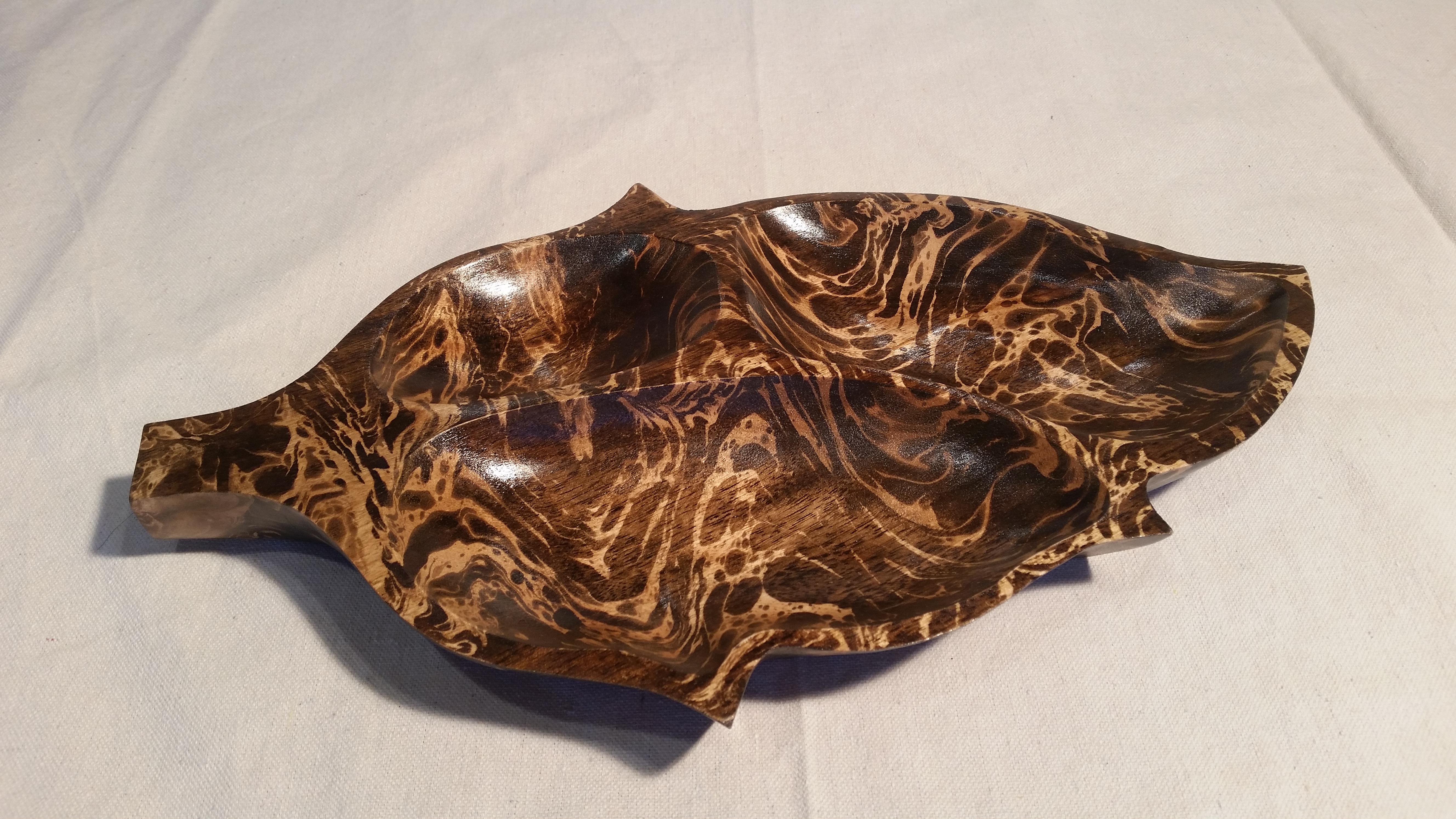 16 inch mango leaf bowl
